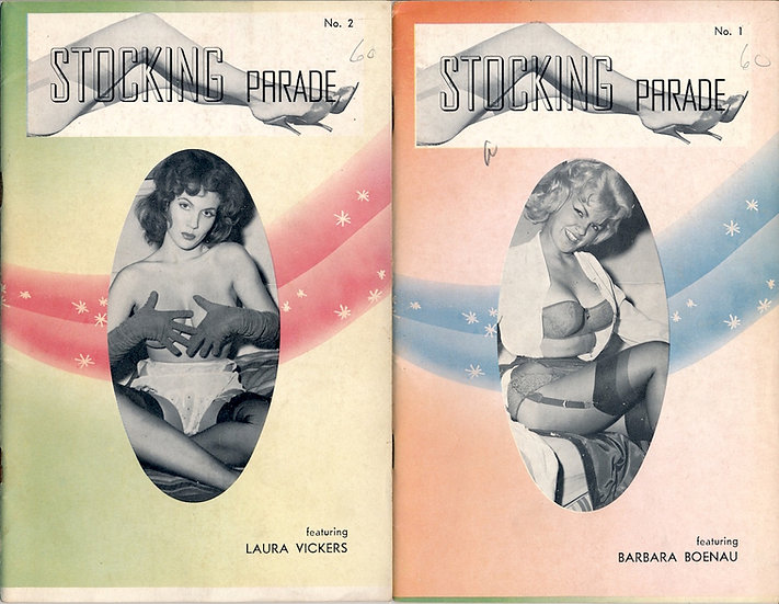 Stocking Parade (Vintage adult digest magazines, 1960)