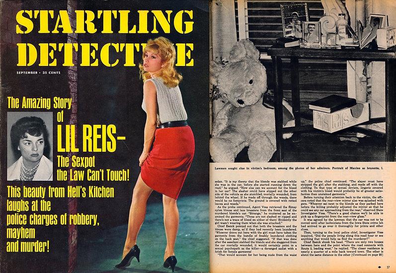 Startling Detective (Vintage crime magazine, Sep 1963)