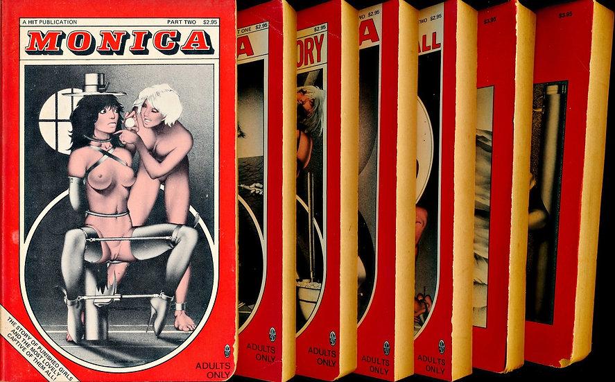 Hit Publications (7 Vintage Paperbacks, 1977-85)