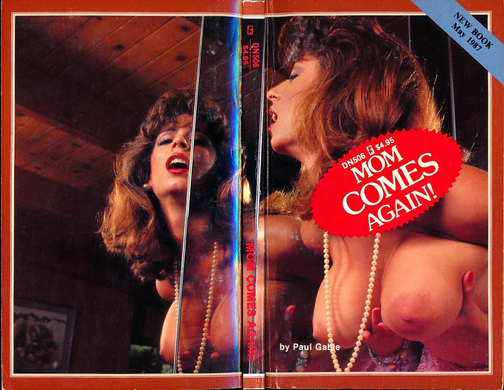 Mom Comes Again! (Vintage adult paperback, Christy Canyon wraparound photo, 1987