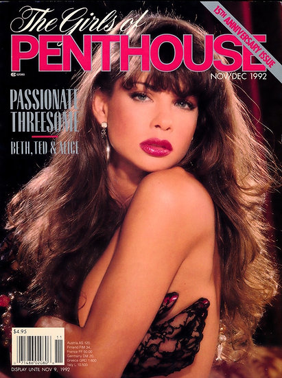 The Girls of Penthouse (Vintage adult magazine, 1992)