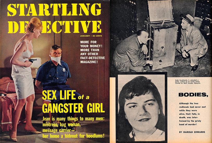 Startling Detective (Vintage crime magazine, Jan 1964)