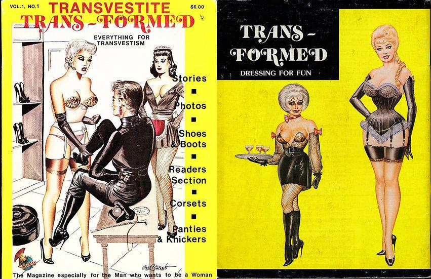 Transvestite Trans-Formed (vintage adult magazine, 1979)