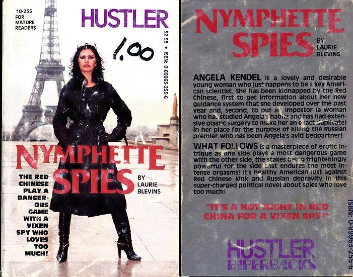 Nymphette Spies (Vintage adult paperback, 1981)