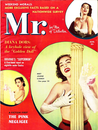 Mr. [Mr. Magazine] (vintage adult magazine, Jeanne Carmen cover)