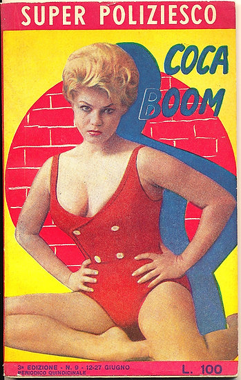 Coca Boom, Terry Higgins cover model