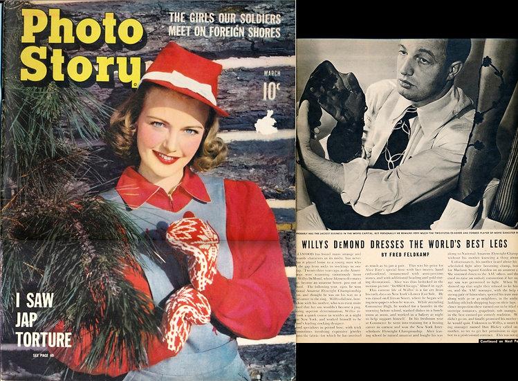 Photo Story (Vintage magazine, Mar 1943)