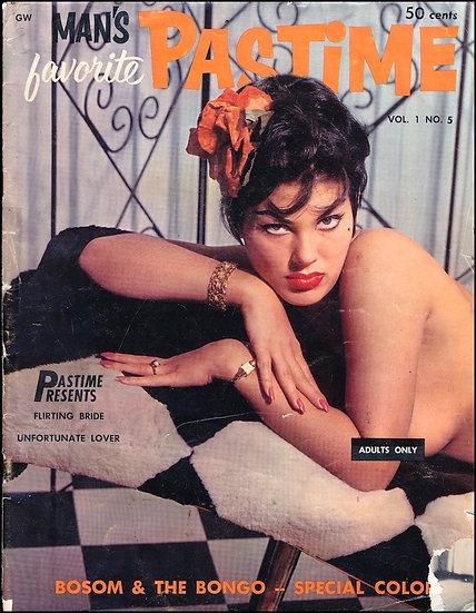 Man's Favorite Pastime (vintage adult magazine, 1960)