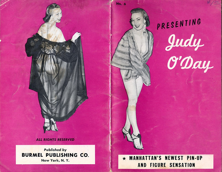 Presenting: Judy O'Day (vintage adult pinup digest magazine, 1950s)