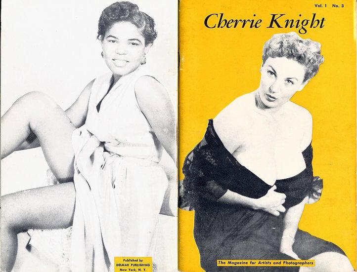Cherrie Knight (vintage pinup digest magazine, 1950s)
