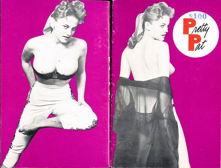 Pretty Pat (vintage adult pinup digest magazine, 1950s)