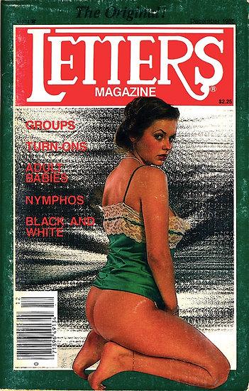 Letters Magazine (Vintage adult digest magazine, Joanne Latham cover, 1985)