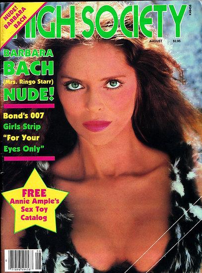 High Society (Vintage adult magazine, 1981)