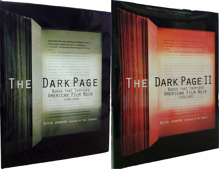 The Dark Page, Vols 1-2 (Signed First Editions)