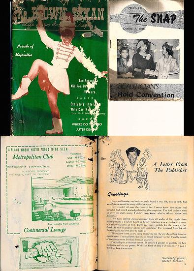 The Brown Texan (Vintage Black American digest magazine, Dec 1964)