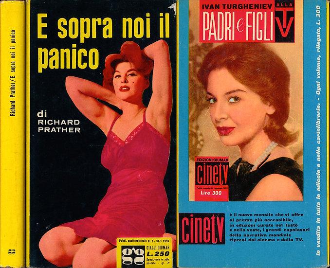 E sopra noi il panico [Pattern for Panic] (Vintage Italian hardcover)