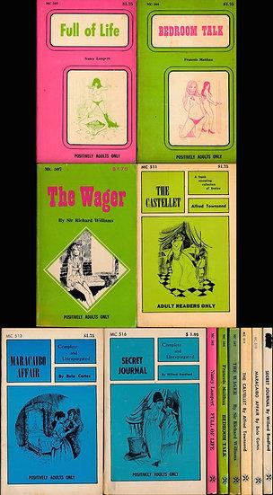 Magna Classic (6 vintage adult paperbacks)