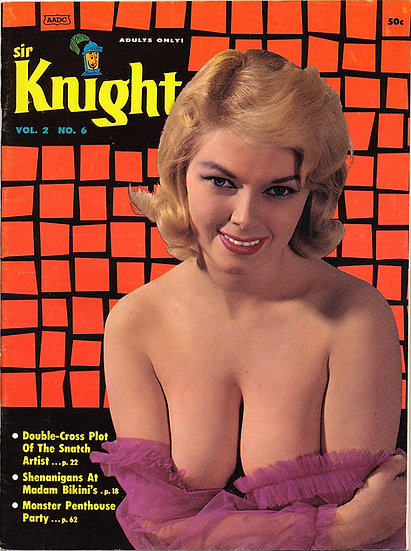 Sir Knight (Vintage Magazine, Terry Higgins centerfold model, 1961)