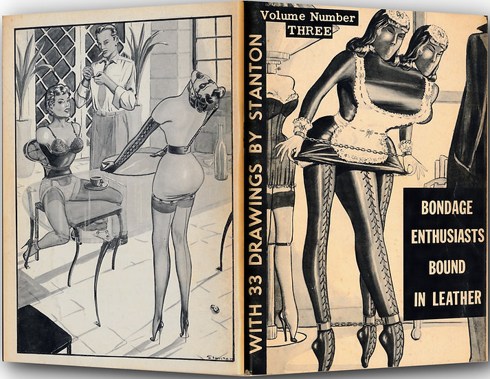 Bondage Enthusiasts Bound in Leather, Vol. 3 (First Edition, 1961)