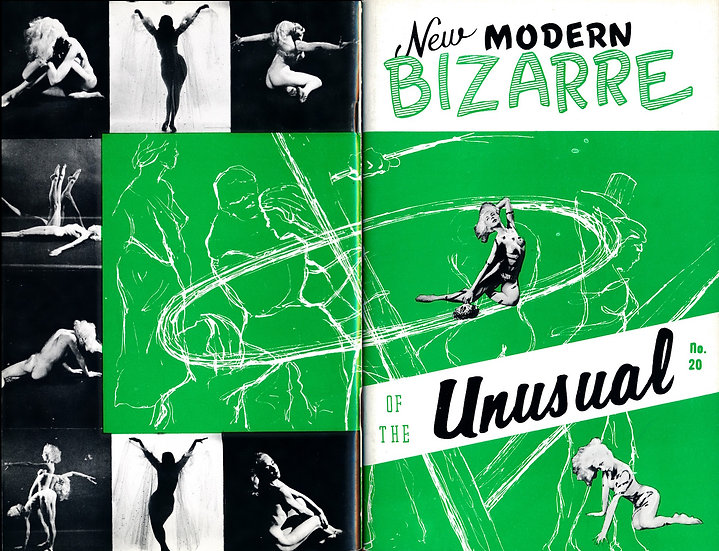 New Modern Bizarre of the Unusual (vintage pinup digest magazine, 1950s)