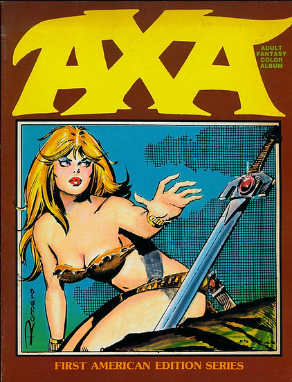 Axa: The Beginning, The Chosen [Adult Fantasy Color Album] (First Edition)