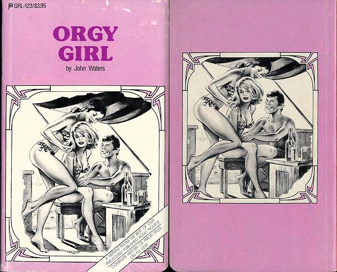 Orgy Girl (vintage adult paperback)