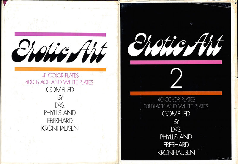 Erotic Art (Hardcover editions, 2 volumes)