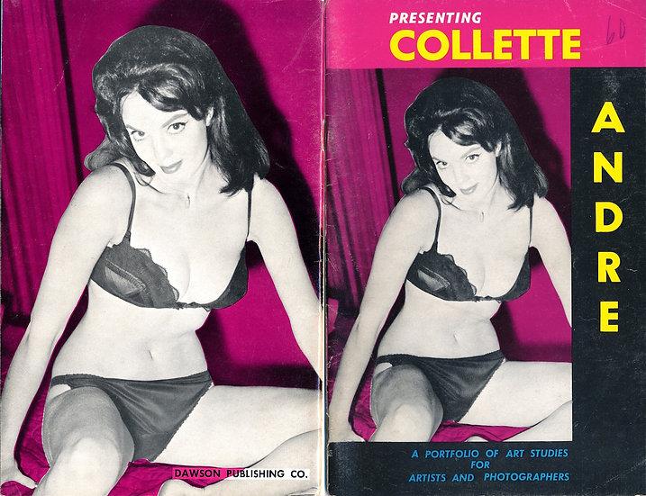 Presenting: Collette Andre (vintage adult pinup digest magazine, 1950s)