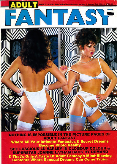 Adult Fantasy (Vintage British adult magazine, 1985)