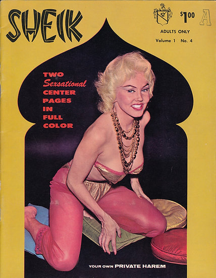 Sheik [Your Own Private Harum] (Vintage adult magazine, 1961)