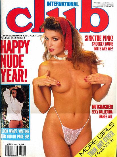 Club International (Vintage adult magazine, 1987)
