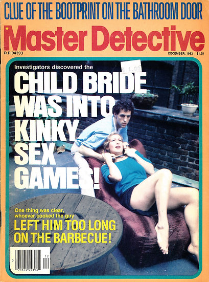 Master Detective (Vintage crime magazine, Dec 1982)