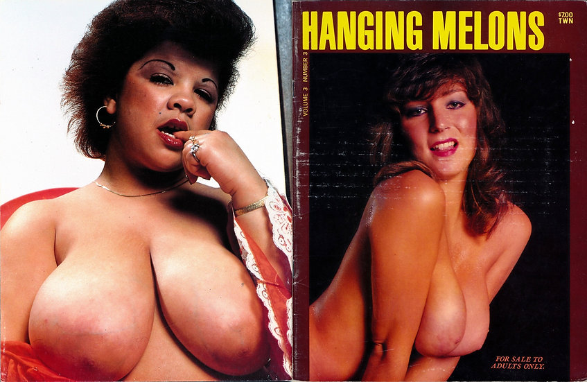 Hanging Melons (Vintage adult magazine, Mona Page cover, 1988)