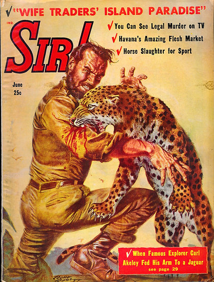 Sir! (Vintage adventure magazine, June 1958)