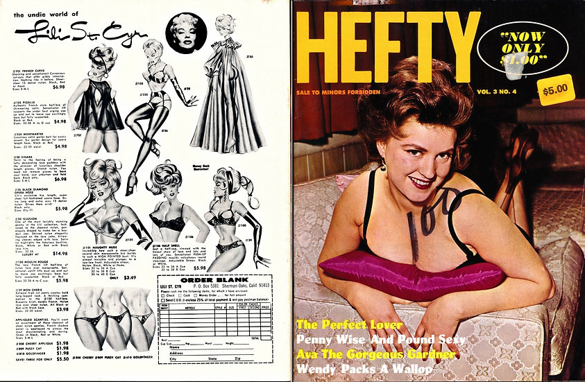 Hefty (Vintage adult magazine, March 1967)