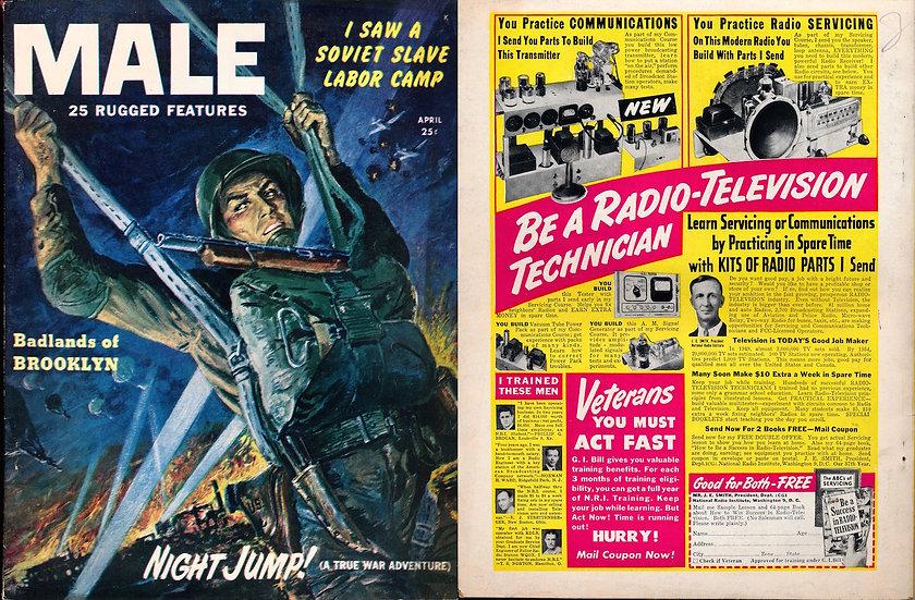 Male (vintage adventure magazine, 1951)