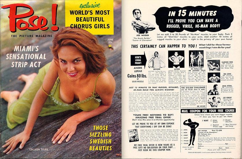 Pose! (Vintage pin-up magazine, 1959)