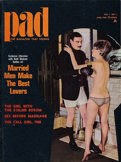 Pad (Vintage adult magazine, first issue, 1968)