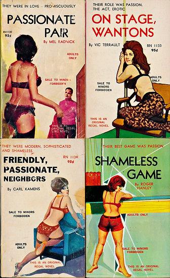 Regal Novels (4 Vintage Paperbacks, 1967)