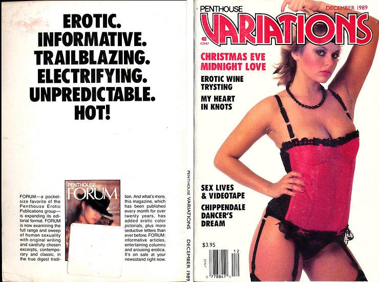 [Penthouse] Variations (vintage erotic digest magazine, Joanne Latham, Dec 1989)