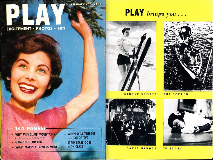 Play (Vintage digest magazine, 1954)