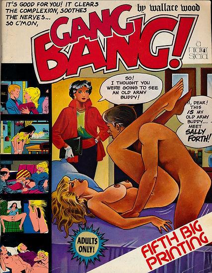 Gang Bang! (Vintage erotic comics magazine, 1983)