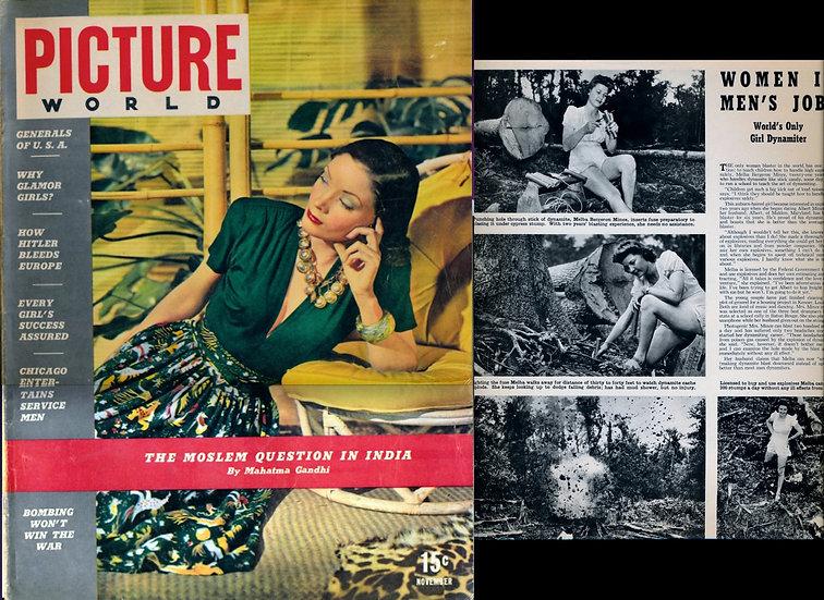 Picture World (Vintage magazine, Nov 1942)