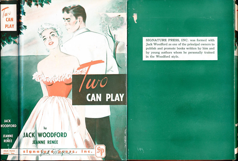 Two Can Play (Vintage hardcover sleaze, First Edition, 1952)