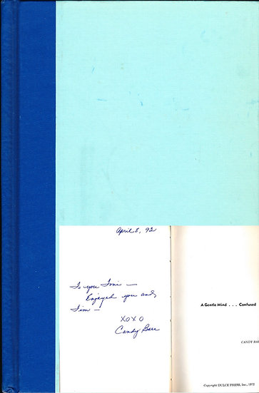 A Gentle Mind... Confused (Signed First Edition, 1972)