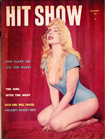 Hit Show, Volume 1 Number 6 (Vintage Magazine, Lee Southern cover model)