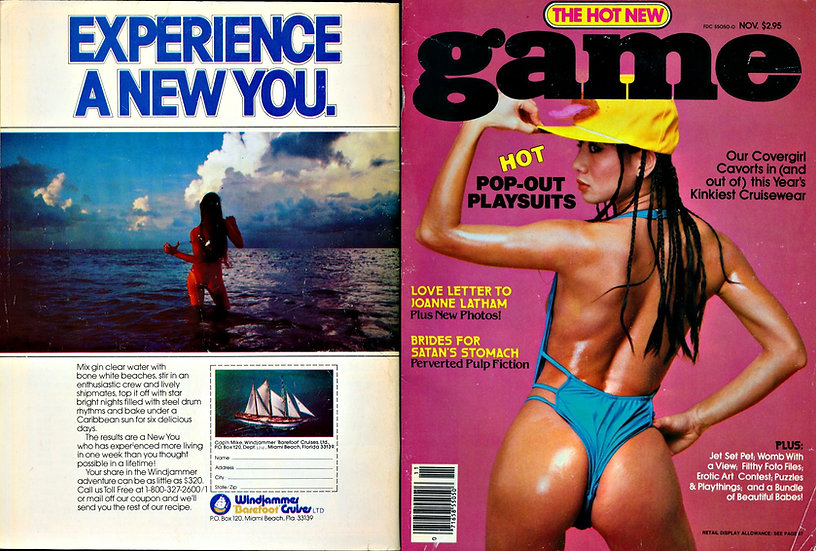 Game (Vintage adult magazine, Joanne Latham feature)