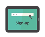Sign-up for cybersecurity software