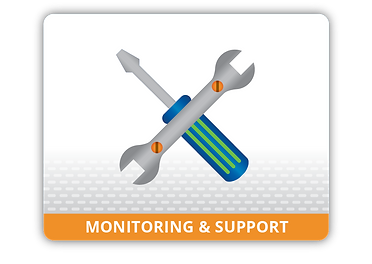Pro-active IT monitoring and support