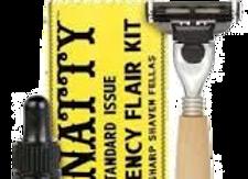Mr. Natty Emergency Flair Shave Kit